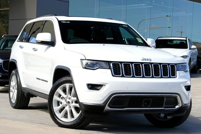 New Jeep Grand Cherokee WK MY18 Limited, 2017 Jeep Grand Cherokee WK MY18 Limited Bright White 8 Speed Sports Automatic Wagon