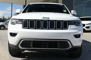2017 Jeep Grand Cherokee WK MY18 Limited Bright White 8 Speed Sports Automatic Wagon
