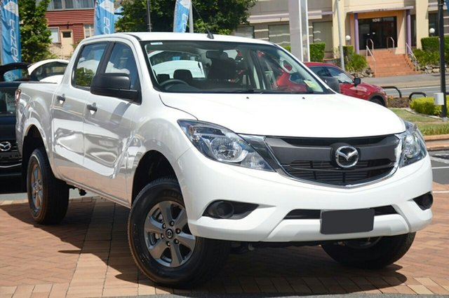 New Mazda BT-50 UR0YG1 XT, 2019 Mazda BT-50 UR0YG1 XT Cool White 6 Speed Sports Automatic Utility