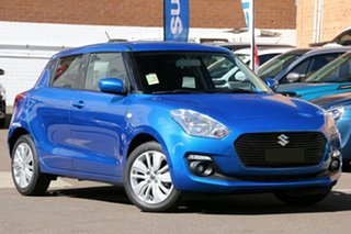 2021 Suzuki Swift AZ Series II GL Navigator Speedy Blue 1 Speed Constant Variable Hatchback.