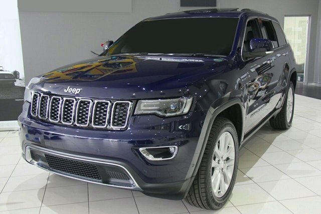 New Jeep Grand Cherokee WK MY18 Limited, 2018 Jeep Grand Cherokee WK MY18 Limited True Blue 8 Speed Sports Automatic Wagon