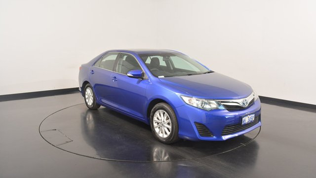 Used Toyota Camry AVV50R Hybrid H, 2012 Toyota Camry AVV50R Hybrid H Blue 1 Speed Constant Variable Sedan Hybrid