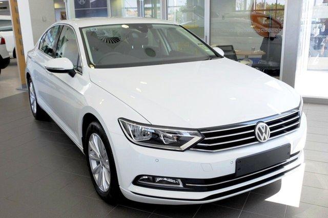 New Volkswagen Passat 3C (B8) MY19 132TSI DSG Comfortline, 2019 Volkswagen Passat 3C (B8) MY19 132TSI DSG Comfortline Pure White 7 Speed