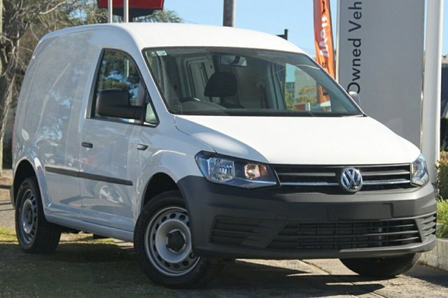 New Volkswagen Caddy 2KN MY20 TDI250 SWB DSG, 2020 Volkswagen Caddy 2KN MY20 TDI250 SWB DSG White 6 Speed Sports Automatic Dual Clutch Van