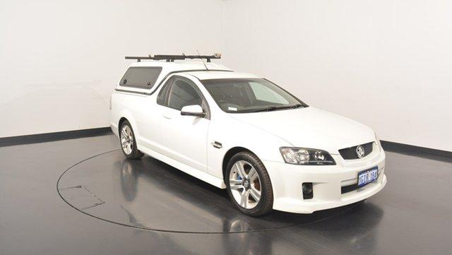 Used Holden Ute VE MY09.5 SV6, 2009 Holden Ute VE MY09.5 SV6 White 6 Speed Manual Utility