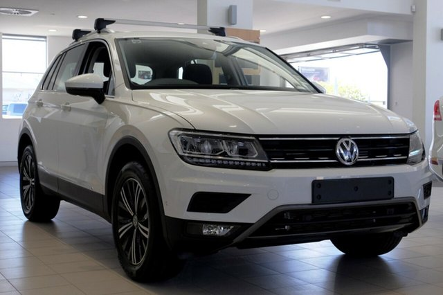 New Volkswagen Tiguan 5N MY18 110TDI DSG 4MOTION Adventure, 2017 Volkswagen Tiguan 5N MY18 110TDI DSG 4MOTION Adventure Pure White 7 Speed