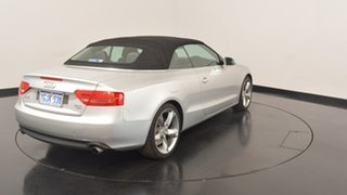 2010 Audi A5 8T MY10 Multitronic Silver 8 Speed Constant Variable Cabriolet
