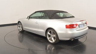 2010 Audi A5 8T MY10 Multitronic Silver 8 Speed Constant Variable Cabriolet.