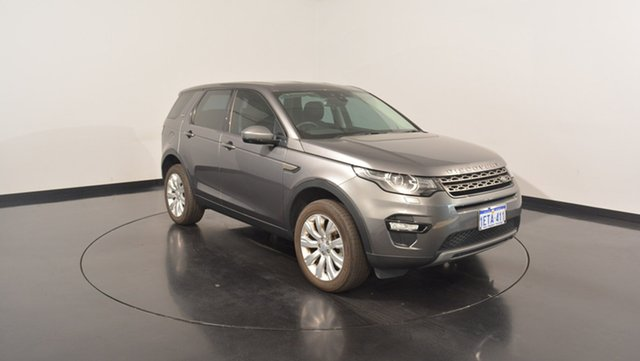 Used Land Rover Discovery Sport L550 15MY SD4 SE, 2015 Land Rover Discovery Sport L550 15MY SD4 SE Grey 9 Speed Sports Automatic Wagon