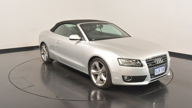 Used Audi A5 8T MY10 Multitronic, 2010 Audi A5 8T MY10 Multitronic Silver 8 Speed Constant Variable Cabriolet