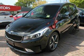 2018 Kia Cerato YD MY18 Sport Aurora Black 6 Speed Sports Automatic Hatchback.