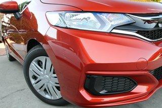 2019 Honda Jazz GF MY19 VTi Phoenix Orange 1 Speed Constant Variable Hatchback.