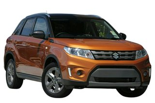 2017 Suzuki Vitara LY RT-S 2WD Orange & Black 6 Speed Sports Automatic Wagon.
