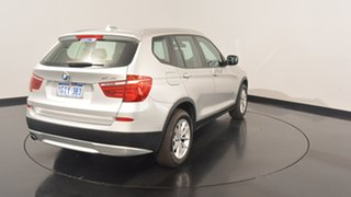 2013 BMW X3 F25 MY1112 xDrive20d Steptronic Titanium Silver 8 Speed Automatic Wagon