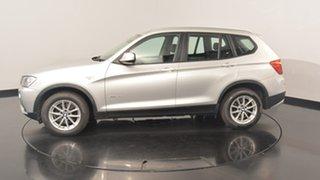 2013 BMW X3 F25 MY1112 xDrive20d Steptronic Titanium Silver 8 Speed Automatic Wagon.