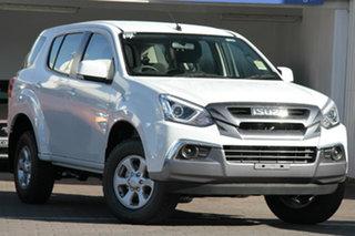 2020 Isuzu MU-X MY19 LS-M Rev-Tronic 4x2 Splash White 6 Speed Sports Automatic Wagon.