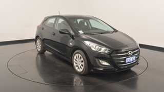 2015 Hyundai i30 GD3 Series II MY16 Active Black 6 Speed Sports Automatic Hatchback.