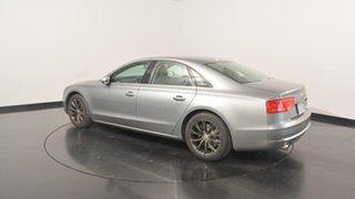2011 Audi A8 4H Tiptronic Quattro Silver 8 Speed Sports Automatic Sedan.