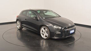 2013 Volkswagen Scirocco 1S MY14 R Coupe DSG Deep Black 6 Speed Sports Automatic Dual Clutch