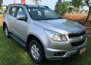 2015 Holden Colorado 7 RG MY16 LT Silver 6 Speed Automatic Wagon.