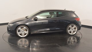 2013 Volkswagen Scirocco 1S MY14 R Coupe DSG Deep Black 6 Speed Sports Automatic Dual Clutch.