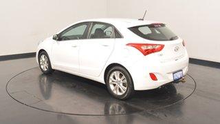 2013 Hyundai i30 GD MY14 Elite Creamy White 6 Speed Sports Automatic Hatchback.