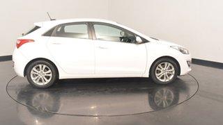 2013 Hyundai i30 GD MY14 Elite Creamy White 6 Speed Sports Automatic Hatchback