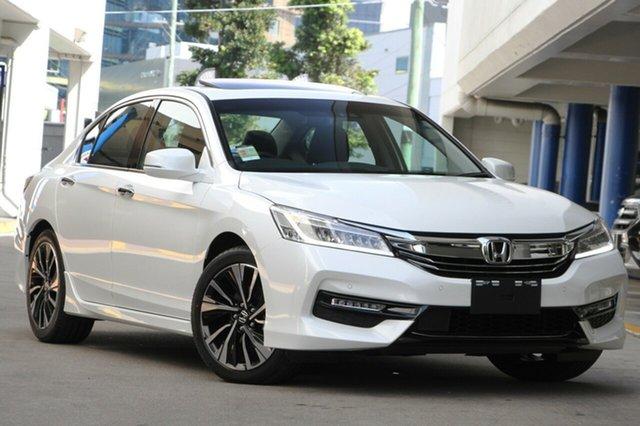 New Honda Accord 9th Gen MY18 V6L, 2019 Honda Accord 9th Gen MY18 V6L White Orchid 6 Speed Sports Automatic Sedan