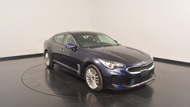 New Kia Stinger CK MY18 200S Fastback, 2017 Kia Stinger CK MY18 200S Fastback Deep Chroma Blue 8 Speed Sports Automatic Sedan