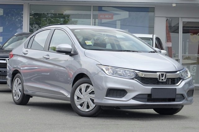 New Honda City GM MY19 VTi, 2018 Honda City GM MY19 VTi Lunar Silver 5 Speed Manual Sedan
