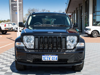 2011 Jeep Cherokee KK MY11 Sport Black 4 Speed Automatic Wagon.
