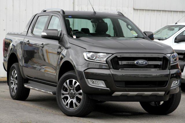 New Ford Ranger PX MkII MY18 Wildtrak Double Cab, 2017 Ford Ranger PX MkII MY18 Wildtrak Double Cab Magnetic 6 Speed Manual Utility