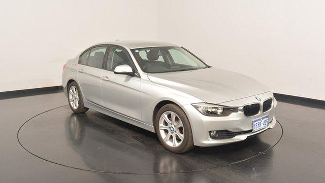 Used BMW 320i F30 MY1112 , 2013 BMW 320i F30 MY1112 Silver 8 Speed Sports Automatic Sedan