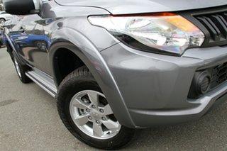 2018 Mitsubishi Triton MQ MY18 GLX Plus (4x4) Titanium Grey 5 Speed Automatic Club Cab Pickup.