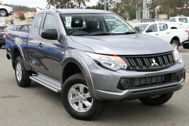 New Mitsubishi Triton MQ MY18 GLX Plus (4x4), 2018 Mitsubishi Triton MQ MY18 GLX Plus (4x4) Titanium Grey 5 Speed Automatic Club Cab Pickup