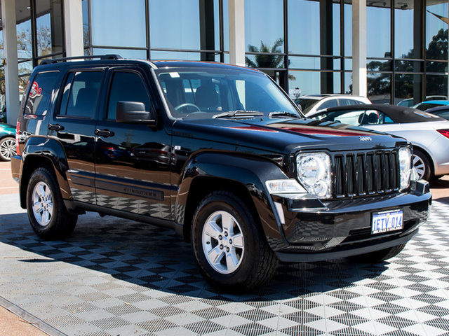 Used Jeep Cherokee KK MY11 Sport, 2011 Jeep Cherokee KK MY11 Sport Black 4 Speed Automatic Wagon