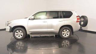 2014 Toyota Landcruiser Prado KDJ150R MY14 GXL Silver 5 Speed Sports Automatic Wagon.