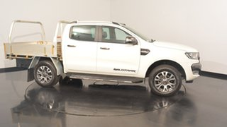 2015 Ford Ranger PX MkII Wildtrak Double Cab White 6 Speed Manual Utility