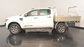 2015 Ford Ranger PX MkII Wildtrak Double Cab White 6 Speed Manual Utility.