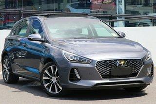 2018 Hyundai i30 PD MY18 Premium D-CT Iron Grey 7 Speed Sports Automatic Dual Clutch Hatchback.