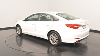 2017 Hyundai Sonata LF3 MY17 Active White Cream 6 Speed Sports Automatic Sedan.