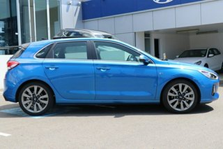 2018 Hyundai i30 PD2 MY18 SR D-CT Premium Intense Blue 7 Speed Sports Automatic Dual Clutch