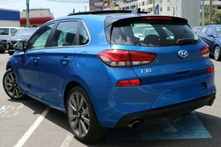 2018 Hyundai i30 PD2 MY18 SR D-CT Premium Intense Blue 7 Speed Sports Automatic Dual Clutch.