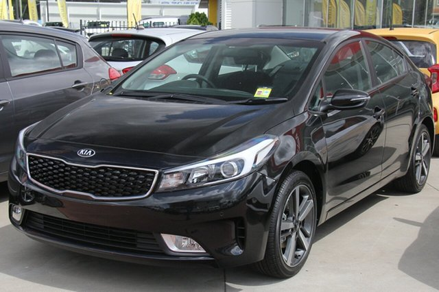 New Kia Cerato YD MY17 Sport, 2017 Kia Cerato YD MY17 Sport Aurora Black 6 Speed Sports Automatic Sedan
