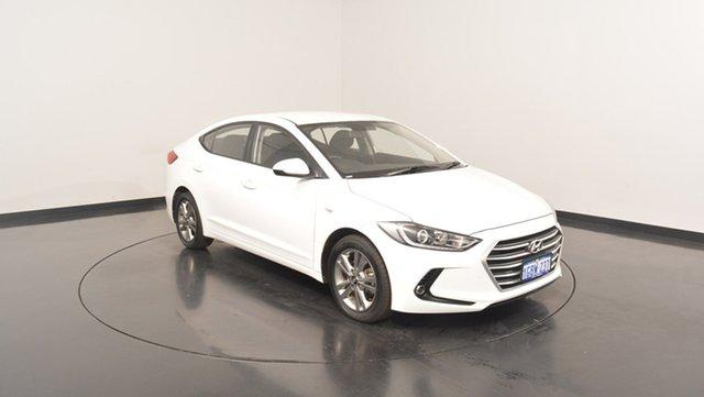 Used Hyundai Elantra AD MY17 Active, 2016 Hyundai Elantra AD MY17 Active Polar White 6 Speed Sports Automatic Sedan