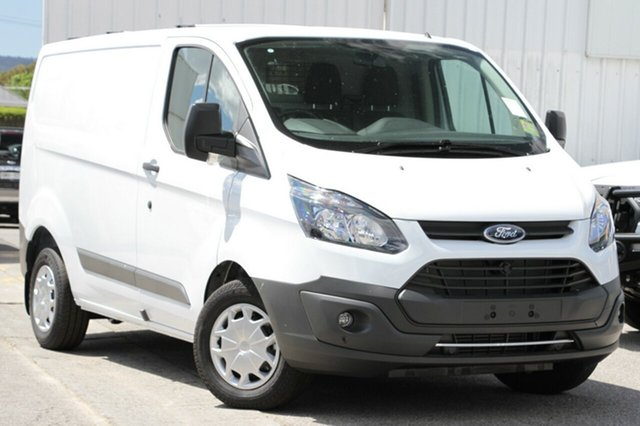 New Ford Transit Custom VN 290S Low Roof SWB, 2017 Ford Transit Custom VN 290S Low Roof SWB Frozen White 6 Speed Automatic Van
