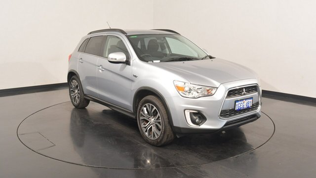 Used Mitsubishi ASX XB MY15.5 LS 2WD, 2016 Mitsubishi ASX XB MY15.5 LS 2WD Cool Silver 6 Speed Constant Variable Wagon