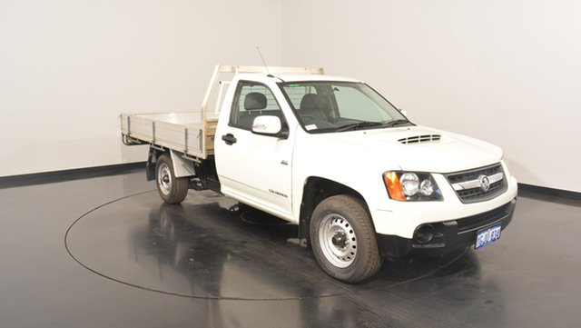 Used Holden Colorado RC MY11 LX, 2011 Holden Colorado RC MY11 LX White 5 Speed Manual Cab Chassis