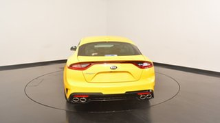 2017 Kia Stinger CK MY18 330S Fastback Sunset Yellow 8 Speed Sports Automatic Sedan