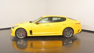 2017 Kia Stinger CK MY18 330S Fastback Sunset Yellow 8 Speed Sports Automatic Sedan.